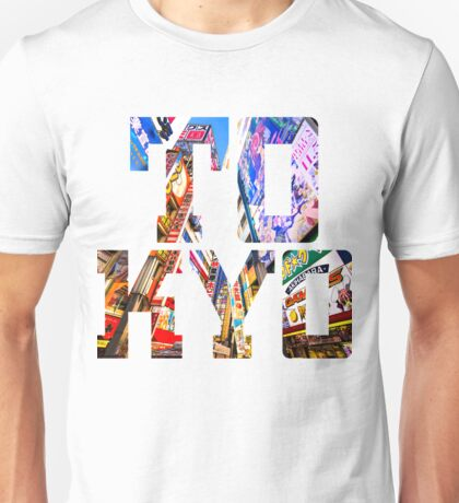 Japan Tokyo Typography Unisex T-Shirt