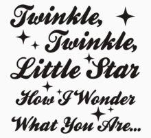 Twinkle, Twinkle, Little Star Baby Tee