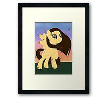 Pony Pocahantas Framed Print