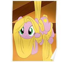 Pony Rapunzel Poster