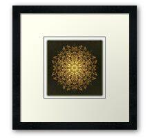 ©DA The Radial Factor Fractal Framed Print
