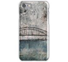 Sydney Harbour (recovery) iPhone Case/Skin