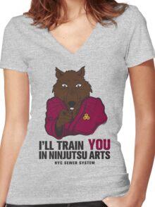 Sensei Women's Fitted V-Neck T-Shirt