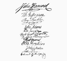 Founders' Signatures by Jeff East