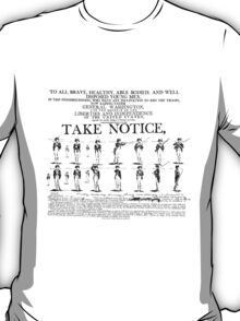 Take Notice! T-Shirt
