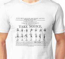 Take Notice! Unisex T-Shirt