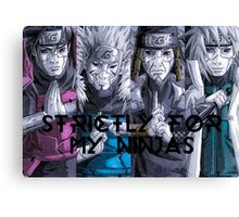 Hokages, strictly Canvas Print