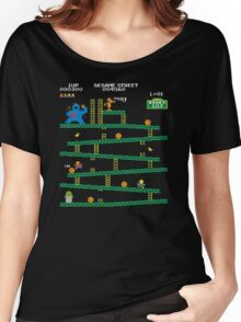Adventure Time Donkey Kong Arcade game 80s retro Women's Relaxed Fit T-Shirt