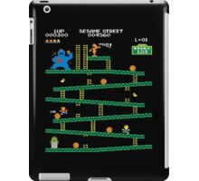 Adventure Time Donkey Kong Arcade game 80s retro iPad Case/Skin