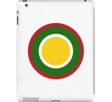 Royal Brunei Air Force - Roundel iPad Case/Skin