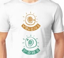 volume and tone controls Unisex T-Shirt
