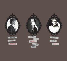 Sherlock, Moriarty, John by ToriJustCuz