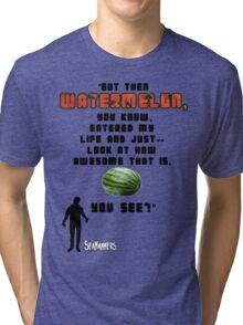 Seananners - Watermelon Tri-blend T-Shirt