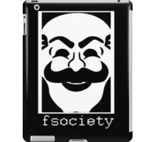F Society, Mr Robot iPad Case/Skin