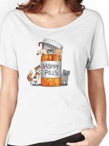 Happy Pills Women's Relaxed Fit T-Shirt