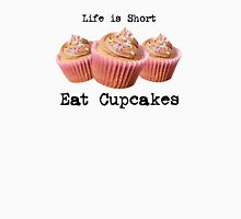Eat Cupcakes Womens Fitted T-Shirt