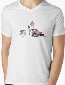 Can you see me (original) Mens V-Neck T-Shirt