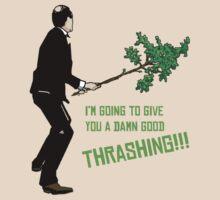Good Thrashing! – Basil Fawlty T-Shirt