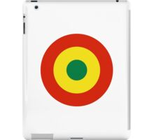 Bolivian Air Force - Roundel iPad Case/Skin