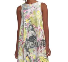 Signs of Spring A-Line Dress