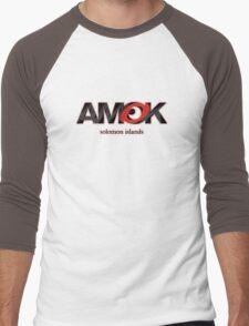 AMOK - solomon islands Men's Baseball ¾ T-Shirt