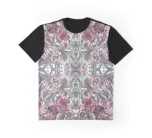 Pink Menagerie Graphic T-Shirt