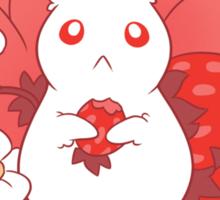 Strawbunny Delight Sticker