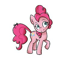 Pinkie Pie Photographic Print