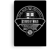 Destroyer of Worlds Ale Canvas Print