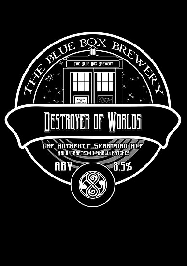 Destroyer of Worlds Ale by SprayPaint