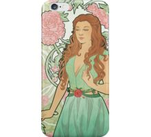 Rose Nouveau iPhone Case/Skin