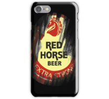The Beer with the RED kick iPhone Case/Skin