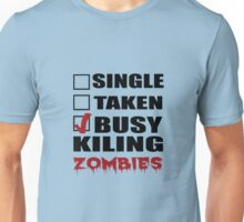 Halloween costumes! killing zombies Unisex T-Shirt