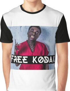 Free Kodak Black Graphic T-Shirt