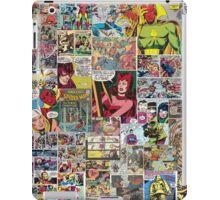 marvel prints iPad Case/Skin