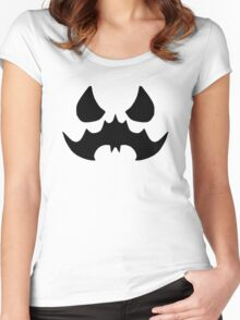Scarecrow's Bat-Signal Women's Fitted Scoop T-Shirt