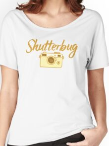 shutterbug (with cool photographic camera) Women's Relaxed Fit T-Shirt