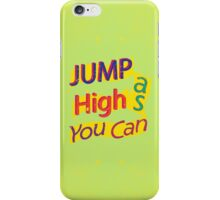Jump for Joy! iPhone Case/Skin