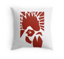 Rooster the Great  Throw Pillow