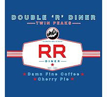 The Double R Diner : Twin Peaks Photographic Print