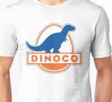 Dinoco Sky Blue Childrens Unisex T-Shirt