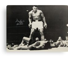 Worlds Greatest Mohammed Ali Canvas Print