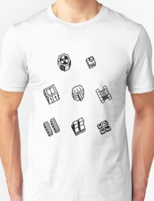 Nether Earth robot parts without title T-Shirt