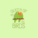 Queen of BIRDS by jazzydevil