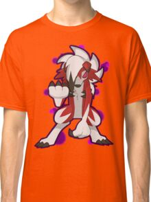 Pokemon - Lycanroc Midnight Form Classic T-Shirt