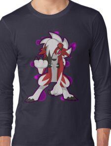 Pokemon - Lycanroc Midnight Form Long Sleeve T-Shirt