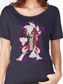 Pokemon - Lycanroc Midnight Form Women's Relaxed Fit T-Shirt