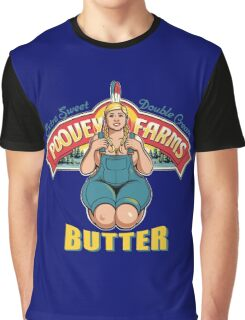 poovey farms butter Graphic T-Shirt