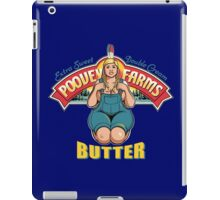 poovey farms butter iPad Case/Skin