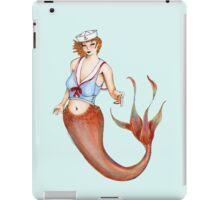 Sailor Mermaid Pin Up iPad Case/Skin